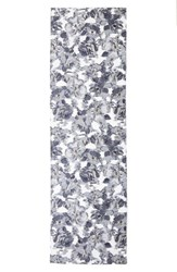 St. John Women's Collection Metallic Floral Fil Coupe Scarf