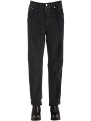 Vetements Reworked Row Cut Cotton Denim