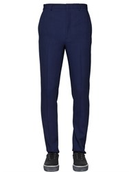 Lanvin 17Cm Wool Viscose Honeycomb Pants