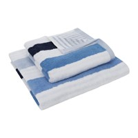 Amara Blue Stripe Towel