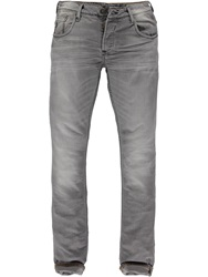 Garcia Man Tapered Leg Jeans Grey