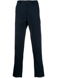 Nanamica Shell Slim Fit Trousers Blue