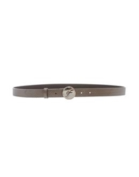 Gianfranco Ferre Gf Ferre' Belts Dove Grey