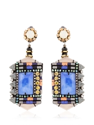 Nocturne Jamilla Cobalt Earrings Blue Multi
