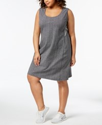 Columbia Plus Size State Of Mind Ii A Line Dress Gray