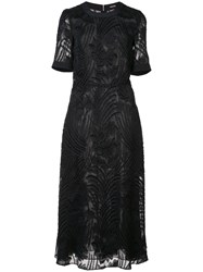 Adam By Adam Lippes Textured Sheer Dress Unavailable