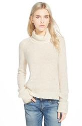 Paige 'Bay' Turtleneck Sweater Custard