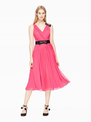 Kate Spade Embellished Bow Dress Cabaret Pink