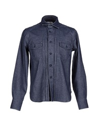 Cycle Denim Shirts Blue