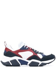 Tommy Hilfiger Paneled Sneakers White