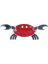 Thom Browne 'Crab' Clutch Red