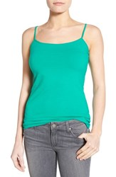 Women's Halogen 'Absolute' Camisole Green Golf
