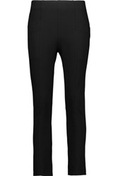 Balmain Pierre Stretch Ponte Skinny Pants Black