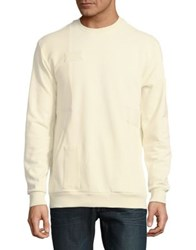 Reason Patch Crewneck Sweatshirt Bleached Sand