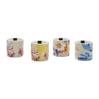 Joules Dippy Egg Cups Whitstable Floral Set Of 4