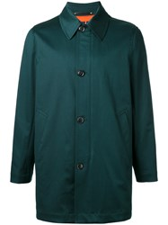 Paul Smith Single Breasted Coat Green