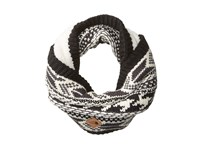 The North Face Chunky Tube Scarf Weathered Black Vintage White Multi Scarves