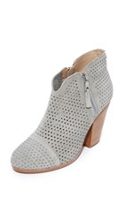 Rag And Bone Margot Perforated Booties Cemento