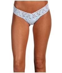 Hanky Panky Signature Lace Low Rise Thong Powder Blue Women's Underwear