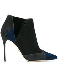 Sergio Rossi Pointed Toe Boots Black