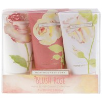Heathcote And Ivory Blush Rose Hand Nail Cream Collection