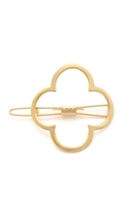 Mrs. President And Co. The Lucky Charmed Barrette Gold Matte
