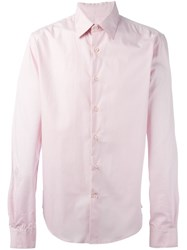 Romeo Gigli Vintage Classic Shirt Pink And Purple