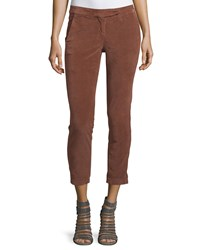 Brunello Cucinelli Extra Slim Fit Corduroy Pants Fox