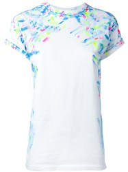 Forte Couture Paint Mark T Shirt White