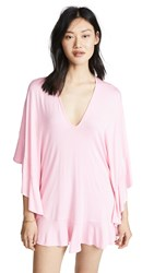 Riller And Fount Naomi Dress Dusty Pink