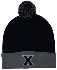 Top Of The World Xavier Musketeers 2 Tone Pom Knit Hat