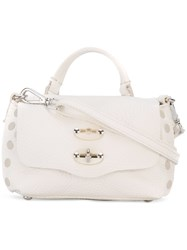 Zanellato Cross Body Bag Women Leather One Size White
