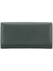 Valextra Billfold Wallet Green