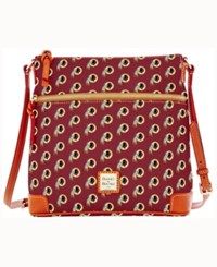Dooney And Bourke Washington Redskins Crossbody Purse Maroon