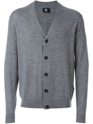 Paul Smith V Neck Cardigan Grey