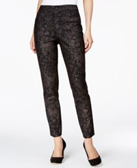 Styleandco. Style And Co. Animal Print Metallic Jeans Only At Macy's