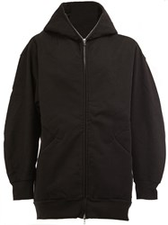 The Soloist Zipped Neck Hooded Jacket Black