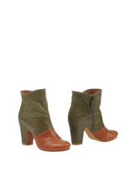 Latitude Femme Ankle Boots Brown
