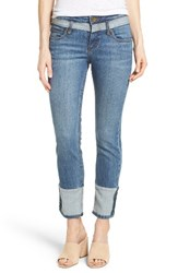 Kut From The Kloth Women's Straight Leg Ankle Jeans