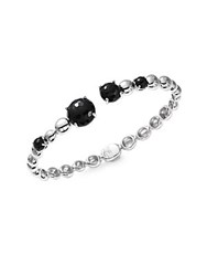 Michael Aram Molten Black Onyx And Sterling Silver Bracelet
