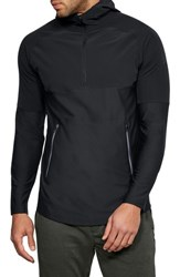 Under Armour Threadborne Vanish Hoodie Black Black Anthracite