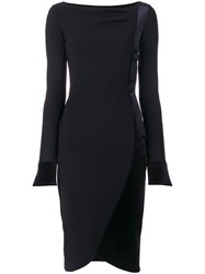 74a027d1c53 La Petite Robe Di Chiara Boni Fitted Dress Black