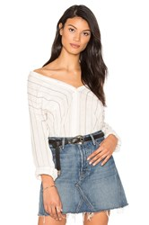 Sanctuary The Steady Boyfriend Shirt White