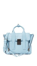 3.1 Phillip Lim Pashli Mini Satchel Dusty Blue