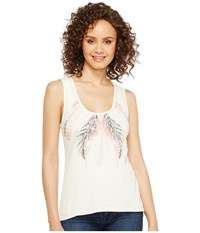 Rock And Roll Cowgirl Tank Top 49 2112 Natural Women's Sleeveless Beige