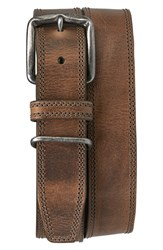 Men's Trask 'Summit' American Steer Leather Belt
