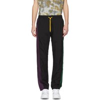 Pyer Moss Black And Purple Classic Track Pants