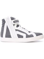 Pierre Hardy 112 Carry Over Sneakers Grey