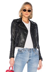 Lamarque Donna Glam Leather Jacket Black