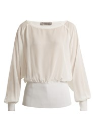 Sportmax Vacuo Blouse Ivory